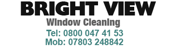 Brightview Window Cleaning Services Logo